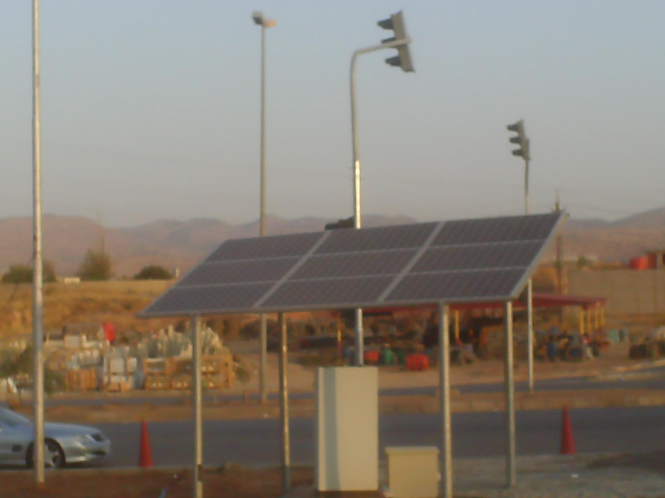 Afrika'da Güneş Enerjili Kavşaklarımız Faaliyette