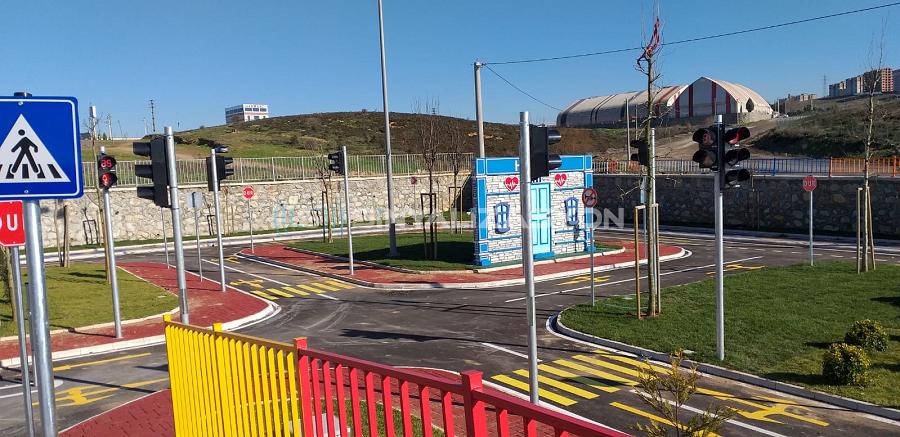 Altındağ Belediyesi ve Çayırova Belediyesi'ne hazırlamış olduğumuz Trafik Eğitim Parklarımız Hizmete Açıldı