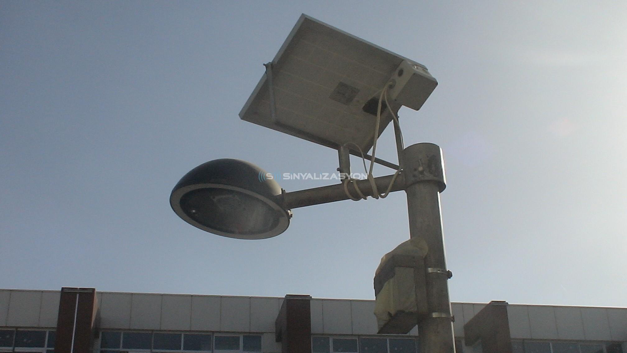 Güneş Enerjili Aydınlatma UFO TİP