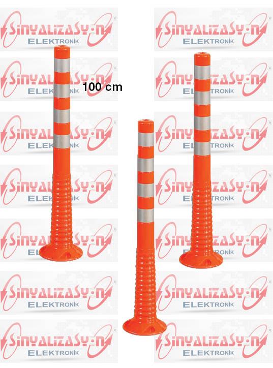 100 cm Şerit Ayırıcı Esnek Delinatör