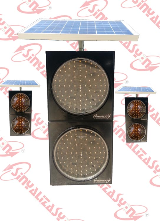 Q300  5mm LED'li Güneş Enerjili Flaşör
