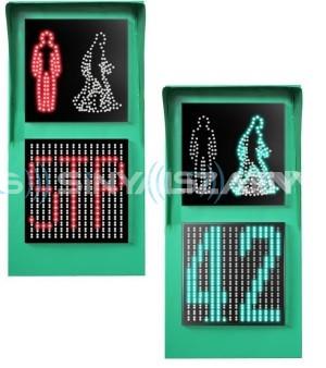 300mm Kırmızı Adam - Yaya Yürüyen Yeşil adam + Kırmızı -Yeşil Geri Sayıcılı Display