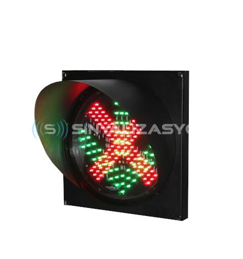 Q200 5mm LED'li Sinyal Verici (Ok/Çarpı)